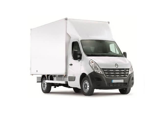Camion blanc 20m3 avec chauffeur