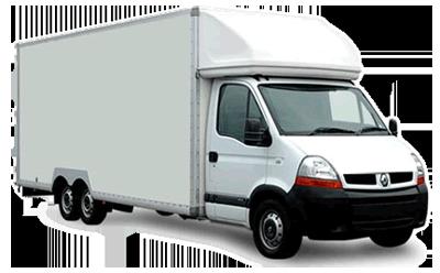 Camion blanc avec chauffeur 30m3